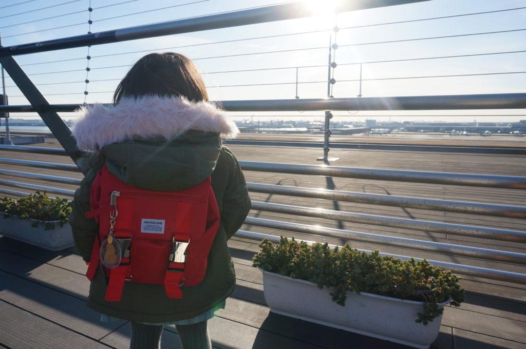 羽田空港へドライブ