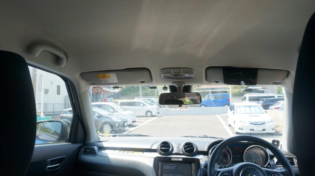スイフト 運転席視界
